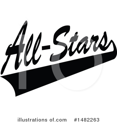 All Stars Clipart #1482263 by Johnny Sajem