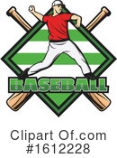 Baseball Clipart #1612228 by Vector Tradition SM