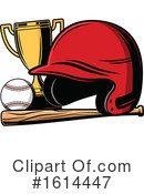 Baseball Clipart #1614447 by Vector Tradition SM