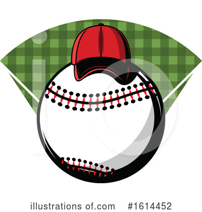 Baseball Clipart #1614452 by Vector Tradition SM
