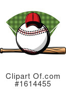 Baseball Clipart #1614455 by Vector Tradition SM