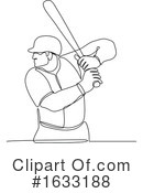 Baseball Clipart #1633188 by patrimonio