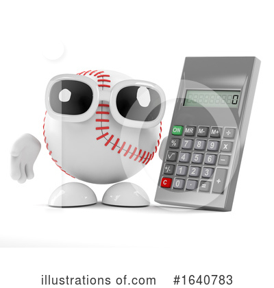Baseball Clipart #1640783 by Steve Young