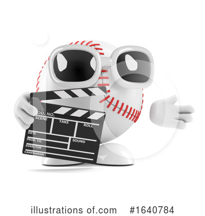 Baseball Clipart #1640784 by Steve Young