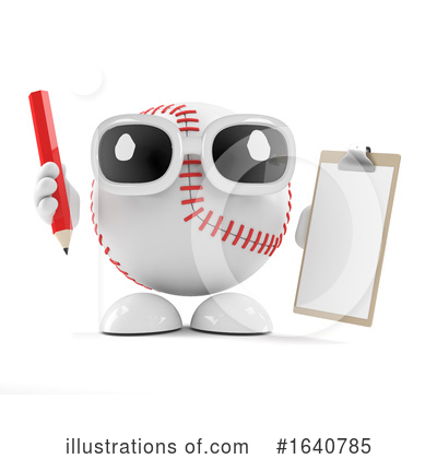 Baseball Clipart #1640785 by Steve Young