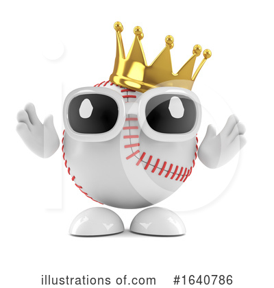 Baseball Clipart #1640786 by Steve Young