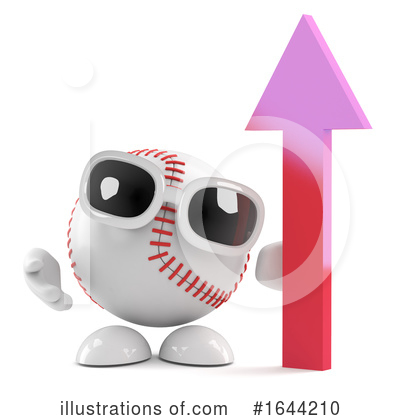 Baseball Clipart #1644210 by Steve Young