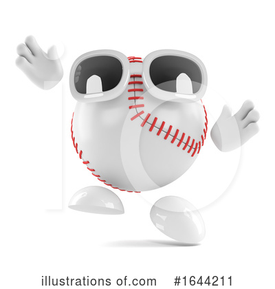 Baseball Clipart #1644211 by Steve Young