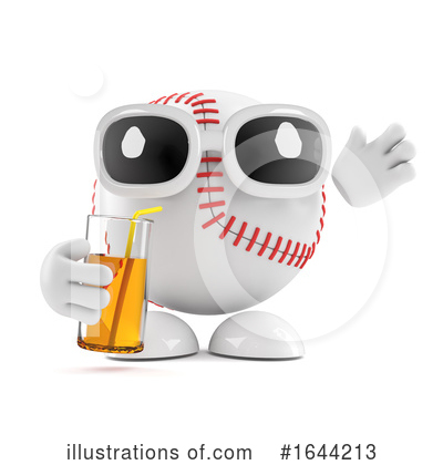 Baseball Clipart #1644213 by Steve Young