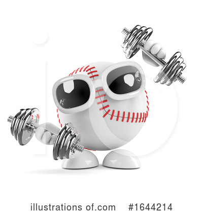 Royalty-Free (RF) Baseball Clipart Illustration by Steve Young - Stock Sample #1644214