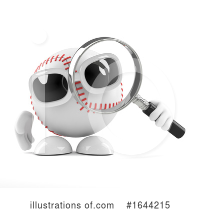 Baseball Clipart #1644215 by Steve Young
