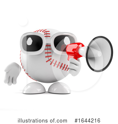 Baseball Clipart #1644216 by Steve Young