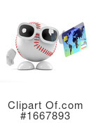 Baseball Clipart #1667893 by Steve Young