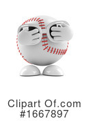 Baseball Clipart #1667897 by Steve Young
