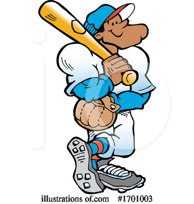 Royalty-Free (RF) Baseball Clipart Illustration by Johnny Sajem - Stock Sample #1701003