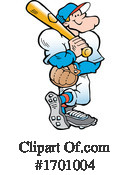 Baseball Clipart #1701004 by Johnny Sajem