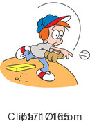 Baseball Clipart #1717165 by Johnny Sajem