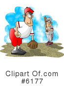 Royalty-Free (RF) Baseball Clipart Illustration #6177