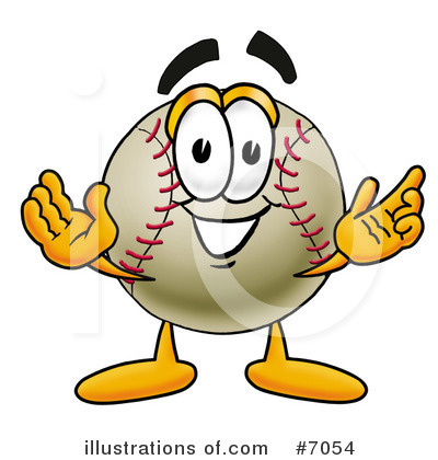 Baseball Clipart #7054 by Toons4Biz