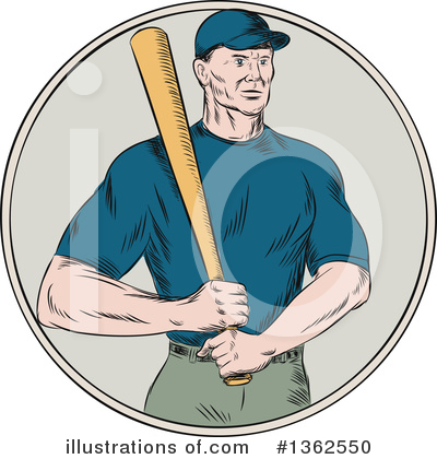 Baseball Clipart #1362550 by patrimonio