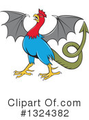 Royalty-Free (RF) Basilisk Clipart Illustration #1324382