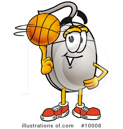 Basketball Clipart #10008 by Toons4Biz