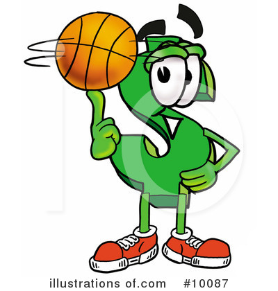 Basketball Clipart #10087 by Toons4Biz