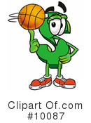 Basketball Clipart #10087