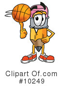 Basketball Clipart #10249 by Toons4Biz
