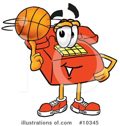 Basketball Clipart #10345 by Toons4Biz