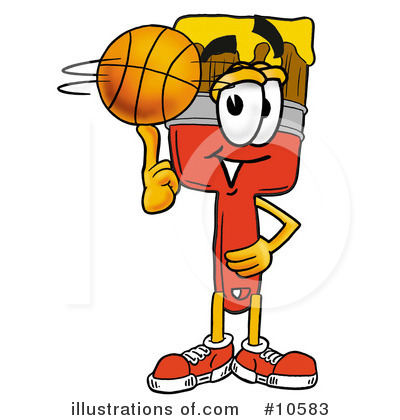 Basketball Clipart #10583 by Toons4Biz