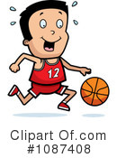 Basketball Clipart #1087408 by Cory Thoman