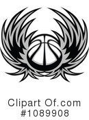 Basketball Clipart #1089908 by Chromaco