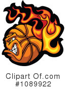 Basketball Clipart #1089922 by Chromaco