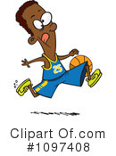 Royalty-Free (RF) basketball Clipart Illustration #1097408