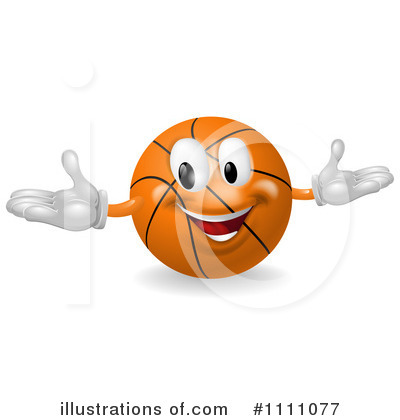 Basketball Clipart #1111077 by AtStockIllustration