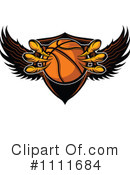 Royalty-Free (RF) Basketball Clipart Illustration #1111684