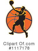 Royalty-Free (RF) basketball Clipart Illustration #1117178
