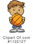 Basketball Clipart #1122127 by Chromaco