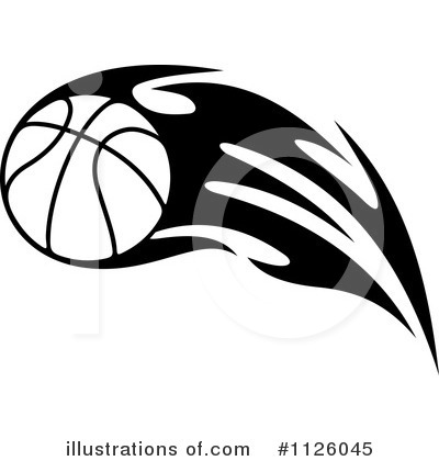 Basketball Clipart #1126045 by Vector Tradition SM