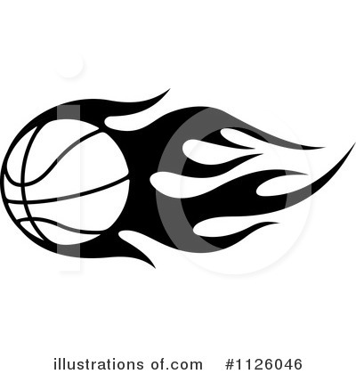Basketball Clipart #1126046 by Vector Tradition SM