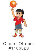 Basketball Clipart #1186323 by visekart