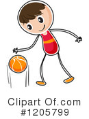 Basketball Clipart #1205799