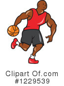 Basketball Clipart #1229539 by patrimonio