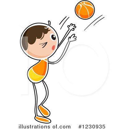 Basketball Clipart #1230935 by Graphics RF