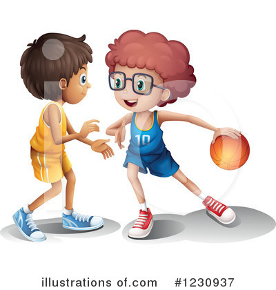Basketball Clipart #1230937 by Graphics RF