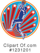 Basketball Clipart #1231201 by patrimonio