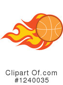 Basketball Clipart #1240035 by Hit Toon