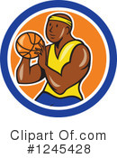 Basketball Clipart #1245428 by patrimonio