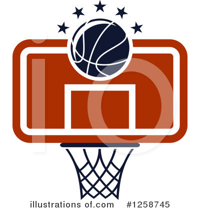 Basketball Clipart #1258745 by Vector Tradition SM